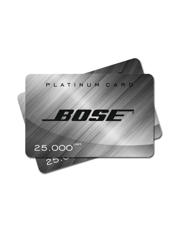 Подарочный сертификат на 25000 грн.